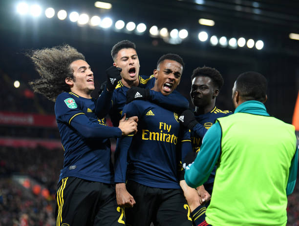 El Arsenal cuenta con mucho talento joven / Foto: Gettyimages