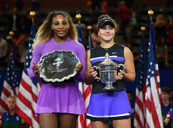 Andreescu beat Serena Williams to win the title (Image:Paul Popper)