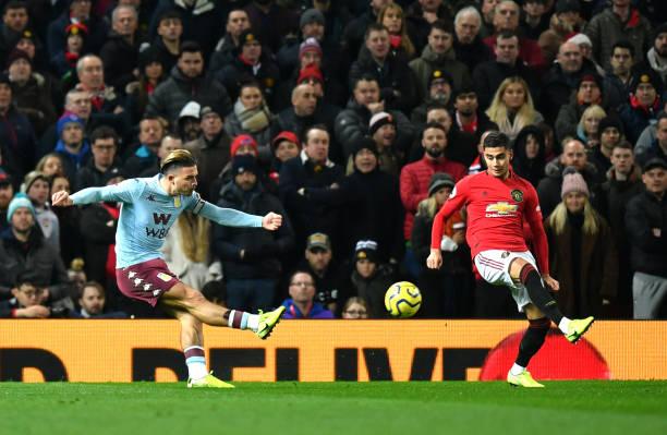 Grealish anotó un golazo en 2019 frente al Manchester United / Foto: Gettyimages