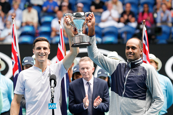 Ram and Salisbury won the Australian Open (Image: Fred Lee)
