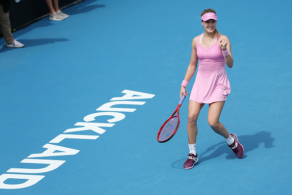 Eugenie Bouchard will be in action in Prague for the first time (Image: Greg Bowker)