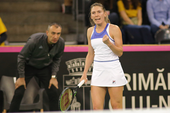 Alexandrova is one of the tour's rising stars (Image: Paul Ursachi)
