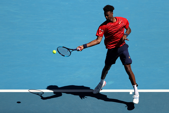 Monfils will look to dictate play with his big groundstrokes (Photo: Clive Brunskill)