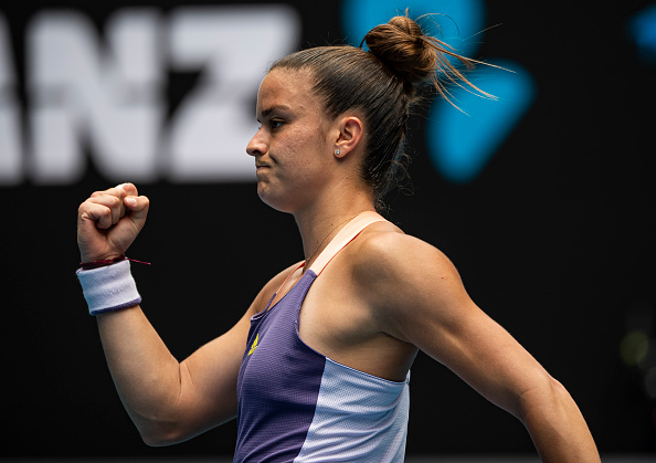 Sakkari is one of the most consistent players on the WTA Tour (Image: TPN)