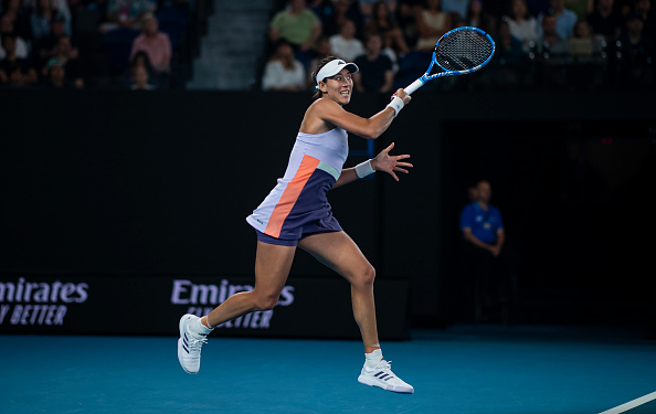 Muguruza rediscovered some of her best form at the Australian Open (Photo: TPN)