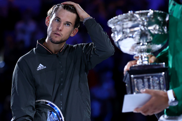 Thiem lost in the Australian Open final (Image: Cameron Spencer)
