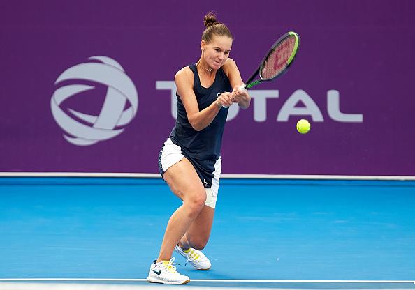 Kudermetova in action (Image: Quality Sport Images)