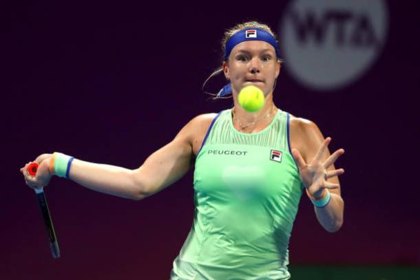 Bertens continues to be in fine form/Photo: Dean Mouhtaropoulos/Getty Images