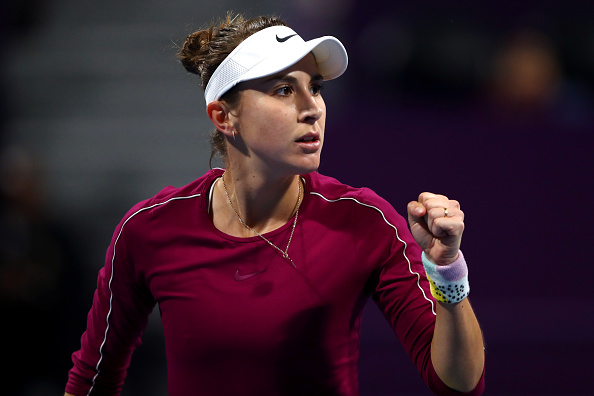 Belinda Bencic will be returning to the WTA Tour in Prague (Image: Dean Mouhtaroupolos)