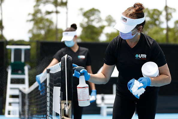 Protocols are likely to be very different when the WTA and ATP Tours return (Image: Michael Reaves)