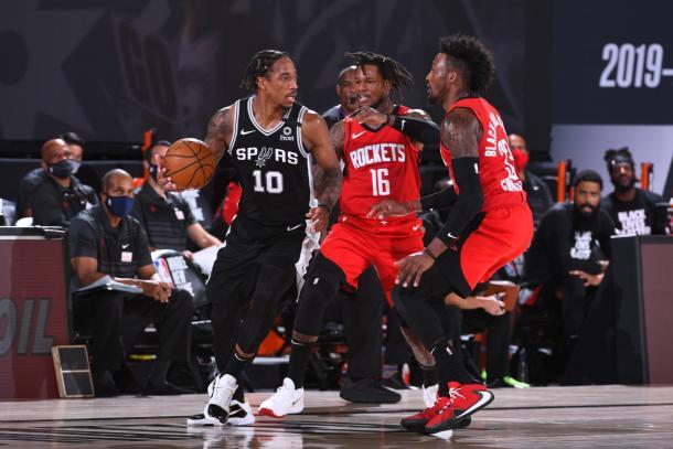 Spurs-Rockets. Fuente: San Antonio Spurs