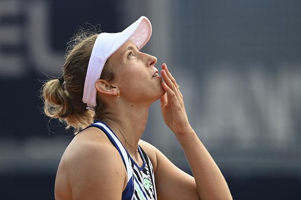 Mertens celebrates her semifinal win over Kristyna Pliskova (Image: Sport Images)