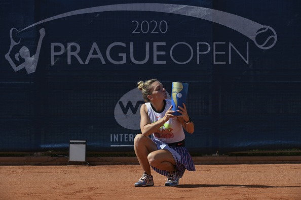 Halep's announcement came fresh off her Prague Open triumph yesterday (Image: Sport Images)