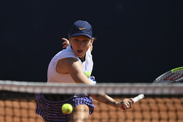 Halep in action during the final (Image: Sport Images)