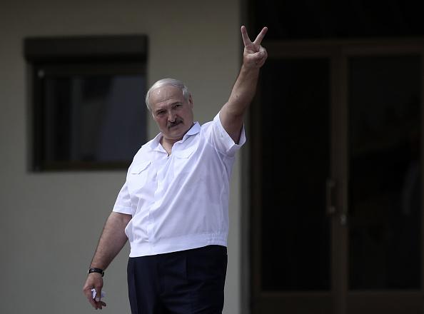 Lukashenko has faced mass protests (Image: Valery Sharifukin)