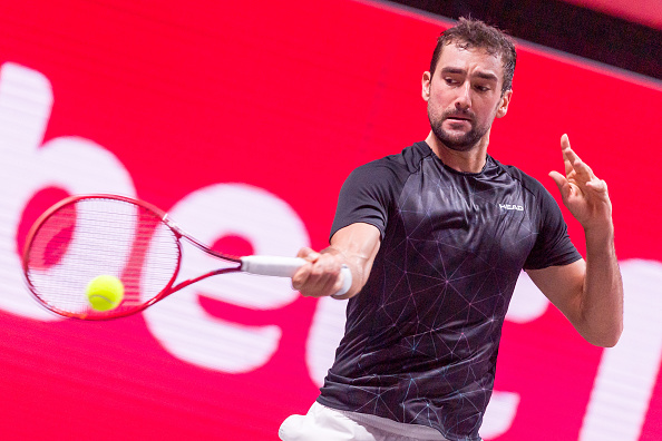 Cilic returning a forehand DeFodi Images