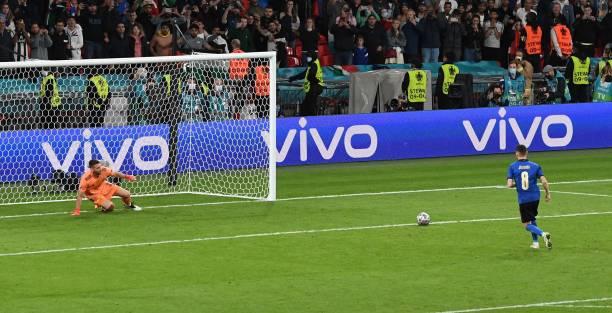 Jorginho es infalible desde los once metros / Foto: Gettyimages
