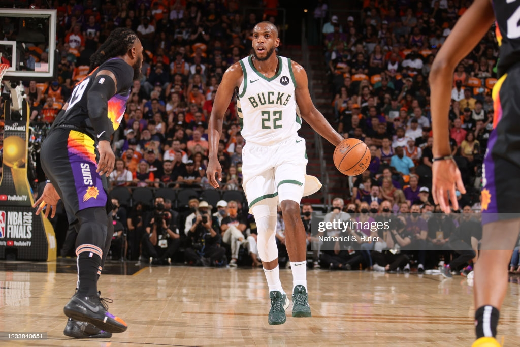 Middleton was high man for the Bucks in Game 1/Photo: Nathaniel S. Butler/NBAE via Getty Images