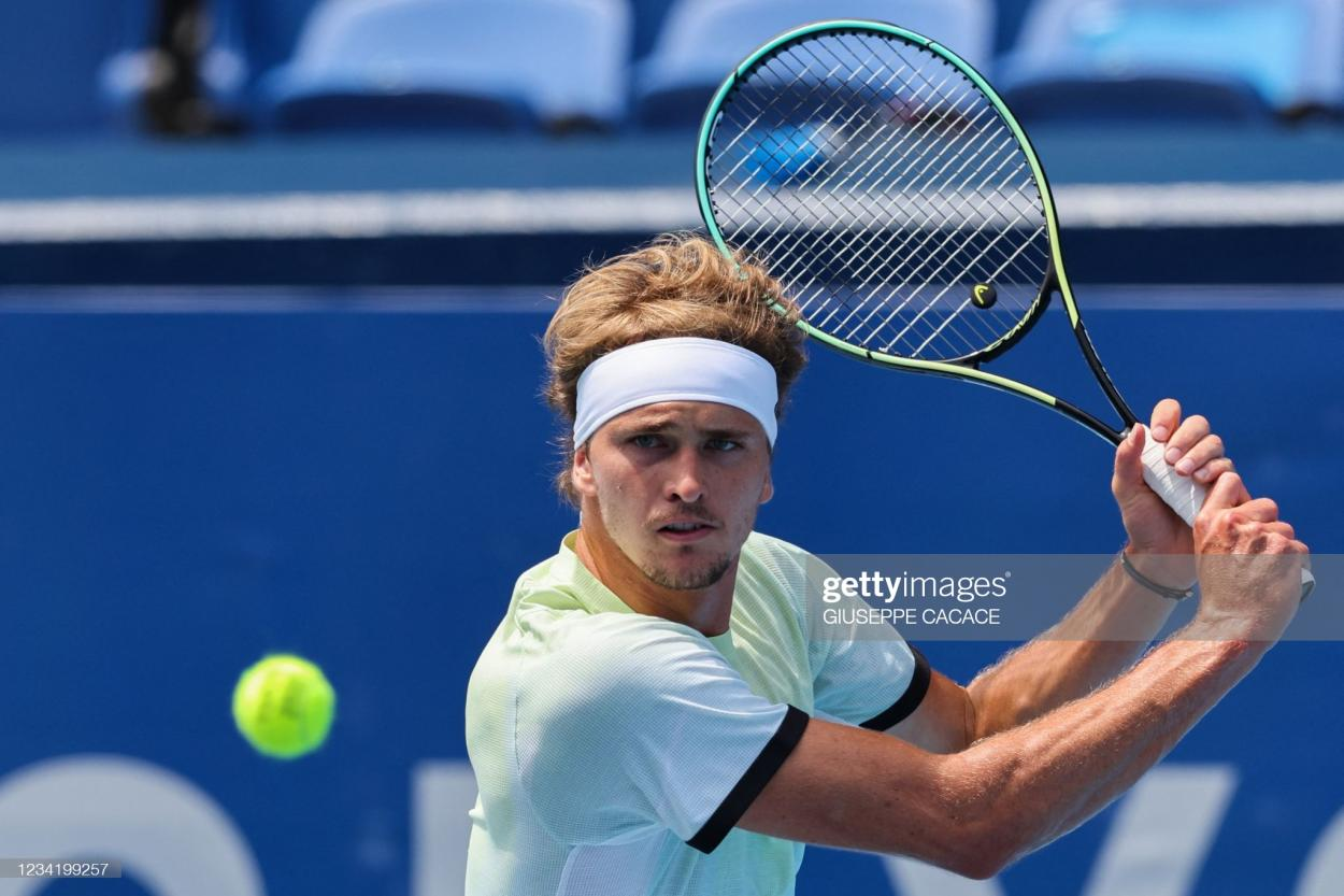 Zverev has looked unbeatable in Tokyo so far/Photo: Giuseppe Cacace/AFP via Getty Images