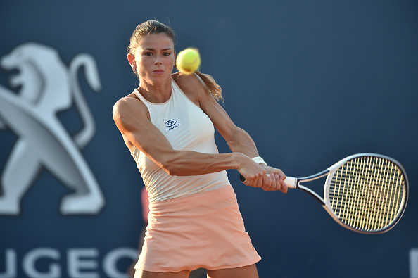 Giorgi is an incredibly aggressive player who likes to dictate play (Image: Tullio M. Puglia)