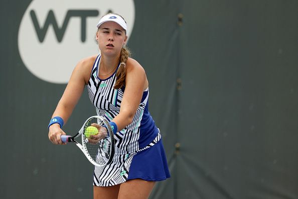 Blinkova in action at the Top Seed Open (Image: Dylan Buell)
