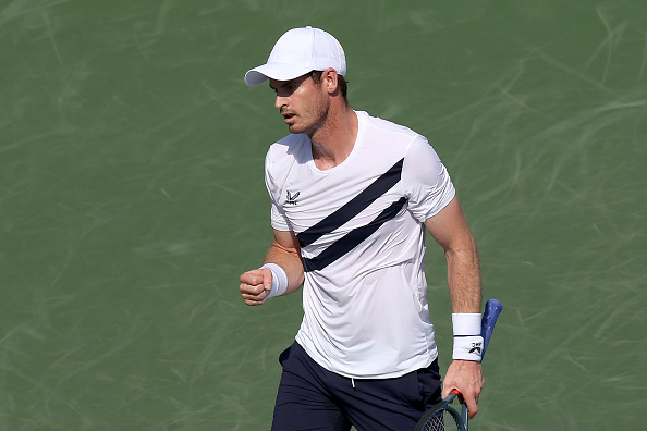 Murray beat Frances Tiafoe in his first round match (Image: Matthew Stockman)