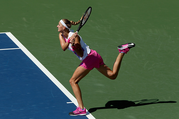 The US Open is the only major where Kvitova has not reached the last four (Image: Matthew Stockman)