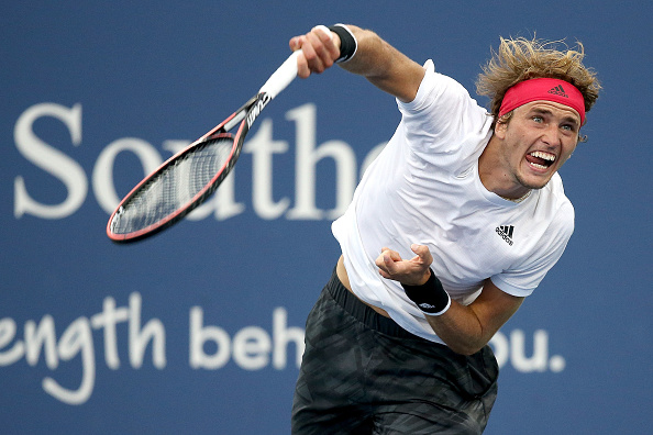 Zverev's serve could be a key part of this match (Image: Matthew Stockman)