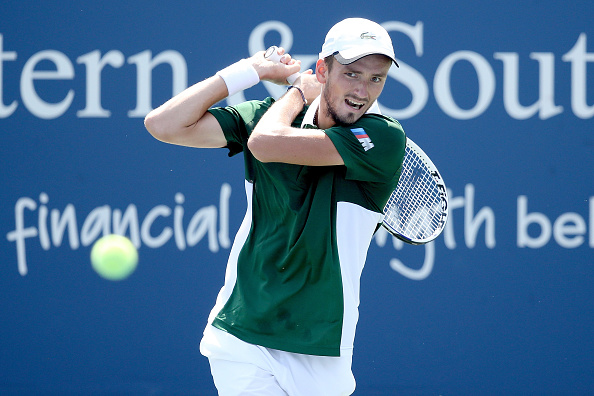 Medvedev was the runner-up in New York in 2019 (Image: Matthew Stockman)