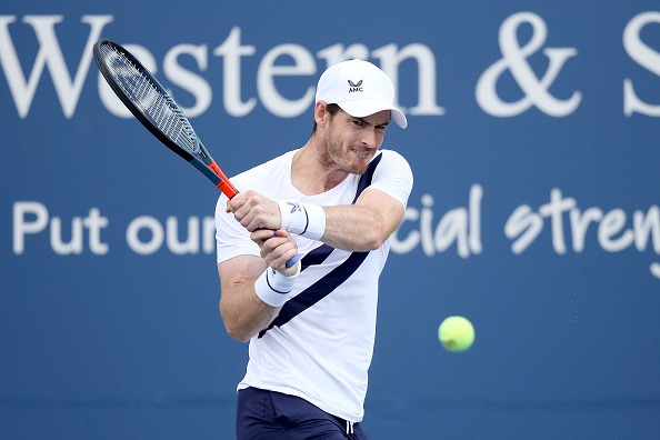 Murray won just four games as he failed to deal with Raonic's serve (Image: Matthew Stockman)