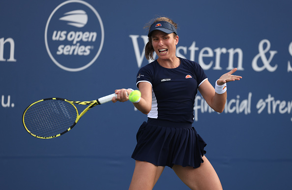 Konta impressed many with her run this week (Image: Al Bello)