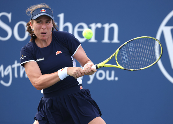 The US Open is the only Grand Slam where Johanna Konta has not reached the semifinal (Image: Al Bello)