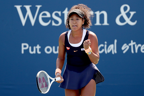 Osaka is aiming to win a second title in New York (Image: Matthew Stockman)