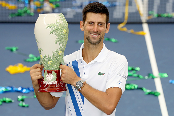 Djokovic is widely seen as the favorite for the title (Image: Matthew Stockman)