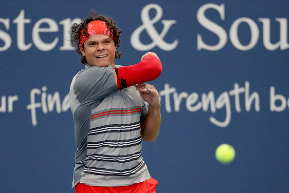 Raonic reached the final of the Western & Southern Open (Image: Matthew Stockman)