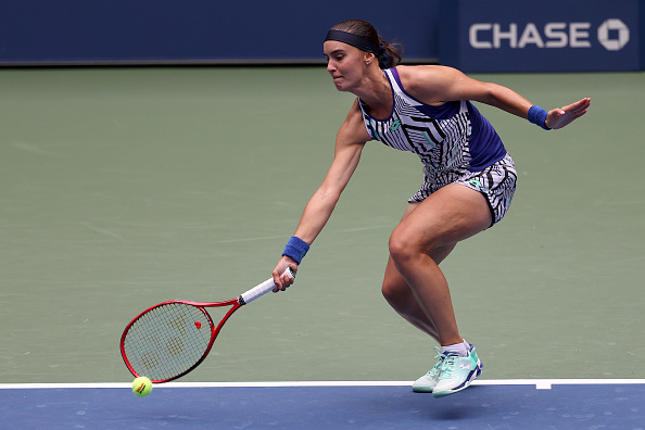 Kalinina was appearing in just her second Grand Slam main draw (Image: Al Bello)