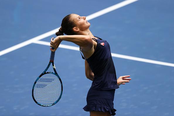 Pliskova's serve will play a significant part (Image: Al Bello)