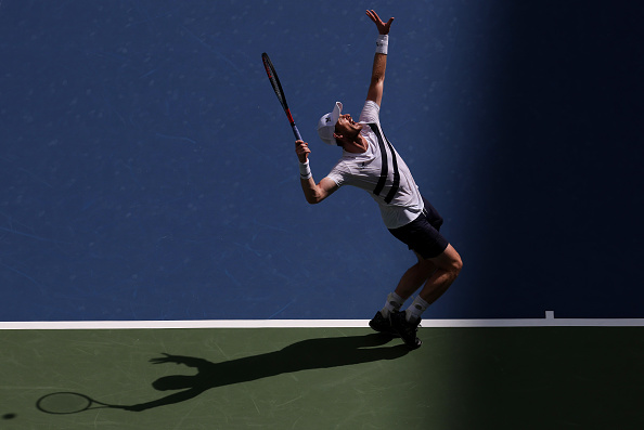 Murray rallied to claim victory (Image: Al Bello)