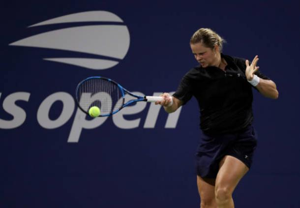 Clijsters played her first match at the US Open in eight years/Photo: Al Bello/Getty Images
