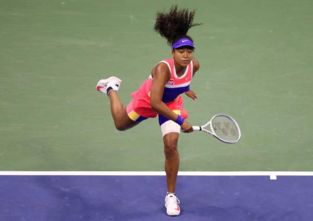 Osaka dominated Giorgi to book her spot in the third round/Photo: Al Bello/Getty Images