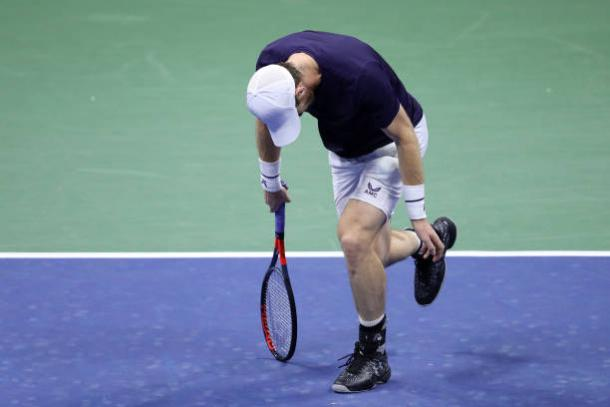 Murray was overhwelmed in his second-round loss/Photo: Matthew Stockman/Getty Images