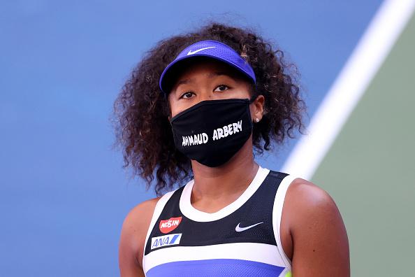 Osaka following her third round victory over Marta Kostyuk (Image: Al Bello)