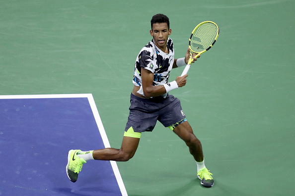 Auger-Aliassime has impressed with his run (Image: Matthew Stockman)