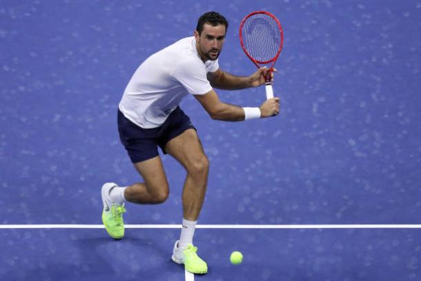 Cilic fought hard, but his comeback ultimately fell short/Photo: Matthew Stockman/Getty Images