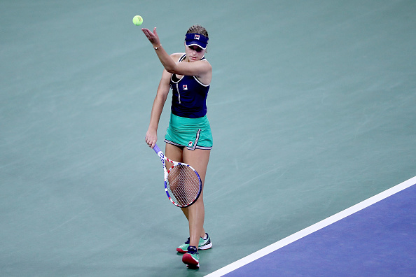 Kenin will look for a strong serving performance (Image: Matthew Stockman)