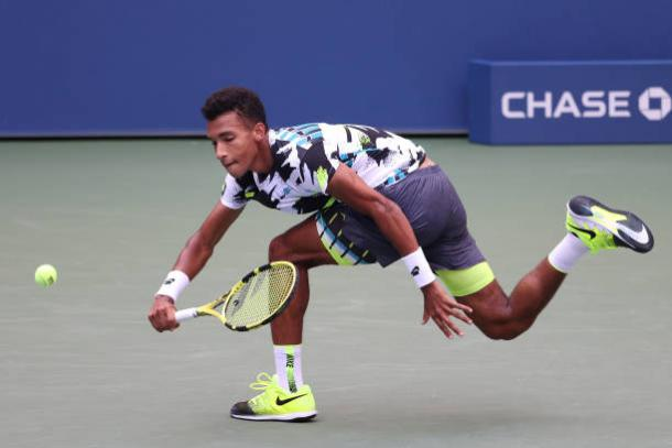 Auger-Aliassime saw his career-best run at a Slam come to a disappointing end/Photo: Al Bello/Getty Images