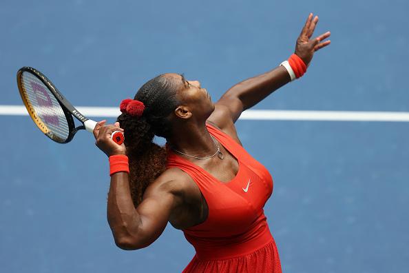 Williams' serve will be key (Image: Al Bello)