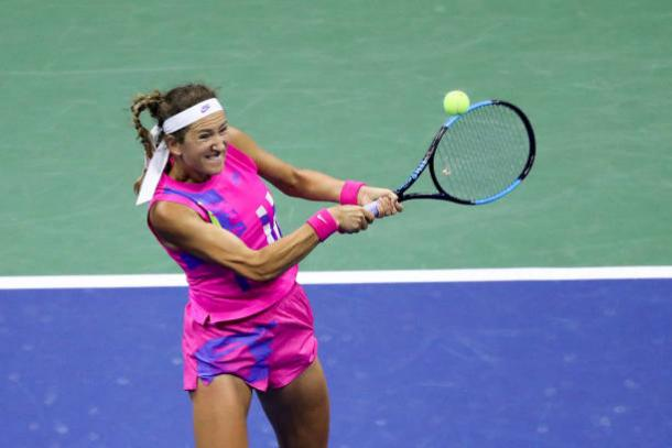 Azarenka is into her first Grand Slam final in seven years/Photo: Matthew Stockman/Getty Images