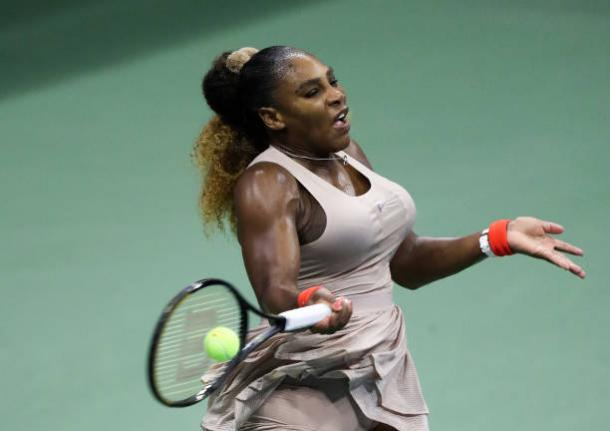 Williams couldn't hold her early advantage/Photo: Matthew Stockman/Getty Images