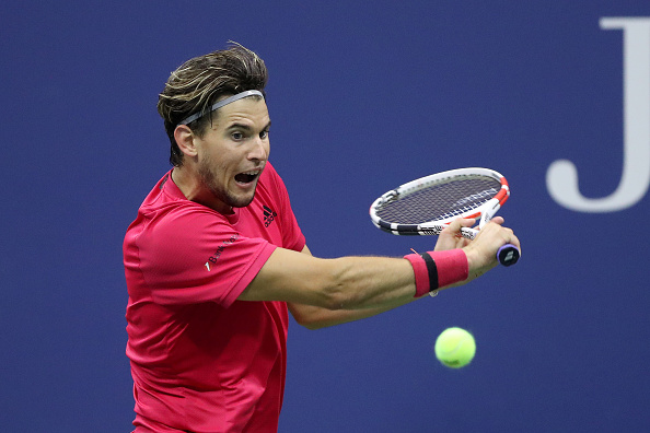 Thiem's backhand slice offered a good change of pace (Photo: Matthew Stockman)